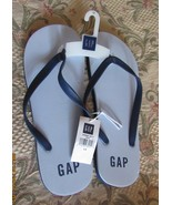 GAP MEN'S THONG SANDAL FLIP FLOP SIZE-10M COLOR-BROWN SOLID NEW WITH TAG. - $24.90
