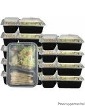 NEW w/o Box Reusable Food Storage Containers (1... - $14.39
