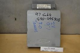 1997 Ford Taurus Sable Engine Control Unit ECU F7DF12A650EE Module 09 9G3 - $9.89