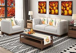 Grelucgo Halloween and Thanksgiving Holiday Table Runners, Fall Autumn Harvest D image 6