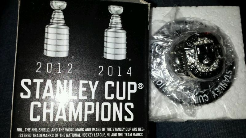 Primary image for 2013-14 Fox Los Angeles Kings 2014 Stanley Cup Champions Replica Ring SGA MIB
