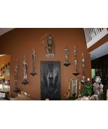 Palembei Iatmul Sepik Carving Totem Sculpture Female Pygmy Statue Rare A... - $1,234.99