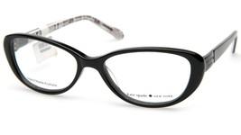NEW Kate Spade FINLEY 0W08 Black Eyeglasses Frame 49-15-135mm - $142.09