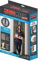 Magic Mesh Deluxe- Black- Hands Free Magnetic Screen Door