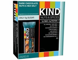 Kind Bar, Dark Chocolate Nuts Sea Salt, 1.4 Oz Bars, Box of 12 Bars - $21.95