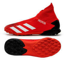 Adidas Jr. Predator 20.3 LL TF Football Shoes Youth Soccer Cleats Red EF1949 - $74.99