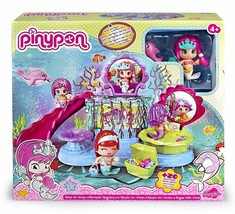 Pinypon Little Kingdom Of Siren Holds Doll And Pet Toy Girl Set Pin And Pon - $266.64