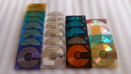 Sony 10MDW74NED Neige Series 74min Blank MD Mini Disc 10 disc packshipping