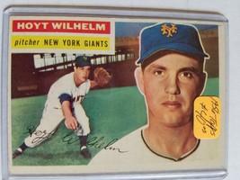 1956 Topps #307 Hoyt Wilhelm : New York Giants - $23.70
