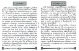 Novena en Honor a la Virgen de Guadalupe image 2