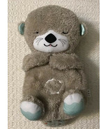 Fisher Price Soothe 'n Snuggle Otter - 11 Sensory Discoveries, Customizable - $35.64