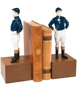 Bookends Bookend In His Riding Colors Jockey Large Cast - $329.00