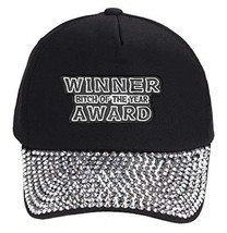 Bitch of the Year Award Winner Hat - Style Color Options (Rhinestone) - $18.95