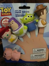 Disney Toy Story Bath Finger Puppets *NEW* aa1 - $11.99