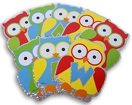 Teaching Supply Owl Welcome Cutouts - Class Bulletin Board Office Decor ... - $7.15
