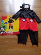 Toddler Size 2T Disney Mickey Mouse Clubhouse Mickey Halloween Costume J... - $24.00