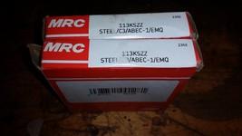 ONE NEW MRC 113KSZZ Ball Bearing  FREE SHIPPING 65X100X18MM - $19.79