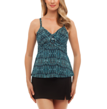 St. John's Bay Tribal Textiles Buckle Front Tankini Size 8, 12 Msrp $48.00 - $24.99