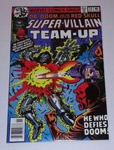 Super Villain Team Up Comic 15 Marvel Dr. Doom Red Skull November 1978 - $10.00