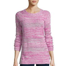 St. John's Bay Long-Sleeve Marled Scoopneck Sweater Size S, M, L New Par... - $16.99