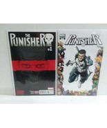 PUNISHER #1 AND #8 - VARIANT COVER + WAR JOURNAL 14,17,18, 39 - FREE SHI... - $23.38