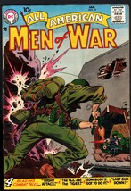 ALL AMERICAN MEN OF WAR #53-1958-WWII-DC-SILVER AGE-HIGH GRADE - $151.32