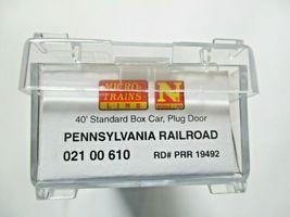 Micro-Trains # 02100610 Pennsylvania Railroad 40' Standard Boxcar N-Scale image 5