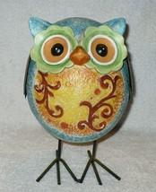 "8"" OWL Figurine with Metal Feet - $9.89"
