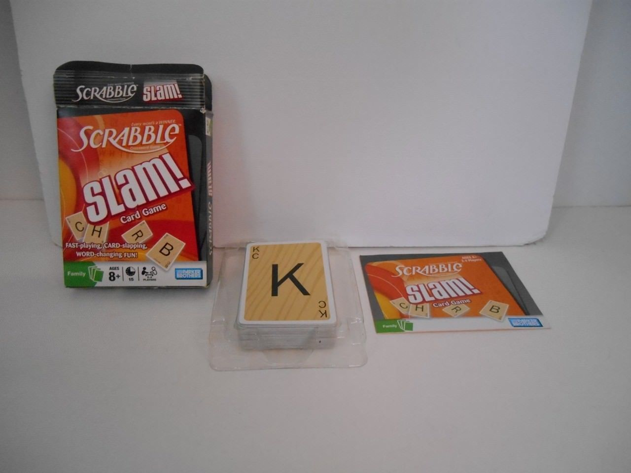 Parker Brothers Scrabble Slam Card And Similar Items
