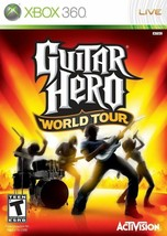 Guitar Hero World Tour Xbox 360 Game - Complete w/ Box & Manual - $10.88