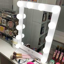 Hollywood Vanity Mirror With Lights 3 Color Lighting Modes Lighted Makeu... - $58.99