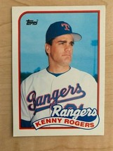 1989 Topps Traded Kenny Rogers #104T Rookie Baseball Card (Original) - $13.86