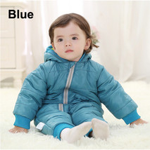 Baby Kid Toddler Boys Girls Winter Padded Onesie Romper Jumpsuit Outfit Snowsuit image 8