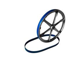 "69177 SET OF 3 BLUE MAX URETHANE BAND SAW TIRES FOR 10"" CRAFTSMAN 113.24... - $42.56"