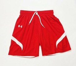 Under Armour Stock Reversible Short Youth Large 1254675 Red White - $27.71