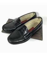 Cole Haan Mens Size 9.5 D Penny Loafers Black Pinch Mocassin 03503 Dress... - $43.87