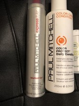 Paul Mitchell Express Style Worked Up Working spray 90% Full Plus Color Protect - $16.60