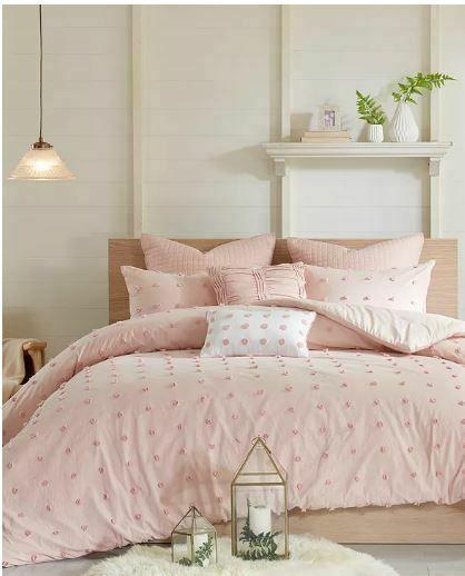 Urban Habitat Brooklyn Comforter Set Twin/Twin Xl Size - Pink , Tufted Cotton