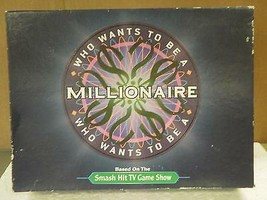 VINTAGE GAME- WHO WANTS TO BE A MILLIONAIRE- USED- GOOD CONDITION - $7.80