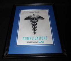 Complications 2014 USA Framed ORIGINAL 11x14 Advertisement Jessica Szohr - $22.55