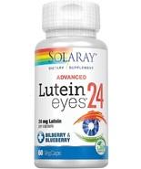 Solaray Advanced Lutein Eyes, 24mg   Eye & Macular Health Support Supple... - $135.77