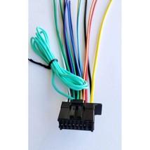 16 Pin Pioneer Avh-280Bt / Avh-290Bt / Avh-291Bt Receiver Wiring Harness.. - $29.99
