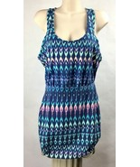 American Eagle Outfitters Womens Size M Tank Top Mini Dress Racerback A2... - $18.67