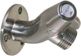 Scandvik 10175 Stainless Steel Angled Washdown... - $75.41