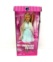 2006 Barbie Doll Fashion Fever Blonde Hair Light Blue Dress Rare - $39.55
