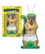 Sexy Squirrel In Underpants Deluxe Air Freshener With Forest Fresh Scent! - $4.64