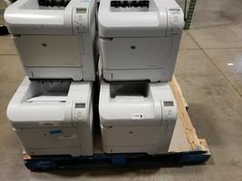 HP LaserJet P4014N Printers w/ Duplex Assemblies Lot of 6 Printers! CB507A - $599.99