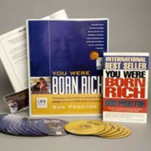 NEW Bob Proctor You Were Born Rich 6 DVD+15 CD (MSRP $595) SAVE $300 - V... - $297.88