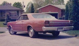 1966 Galaxie 500 photo POSTER 24 X 36 INCH   garage and bedroom decor - $18.99