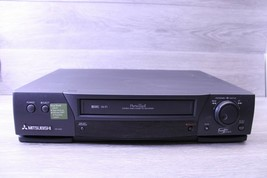 Mitsubishi HS-U780 Super-VHS 4 head HiFi, VCR+Plus Gold NO Remote Tested... - $94.00
